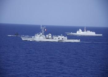 مصر وفرنسا تنفذان تدريبا بحريا مشتركا في البحر المتوسط