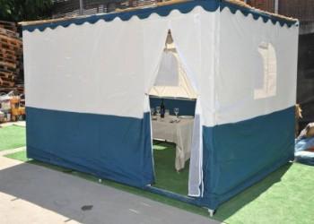 دبي تحتضن أول خيمة لعيد العرش أمام برج خليفة