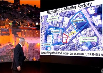 إسرائيل تنشر صور مواقع جديدة مزعومة لبرنامج حزب الله الصاروخي
