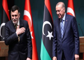 أردوغان يلتقي السراج لتبادل وجهات النظر حول السلطة الجديدة في ليبيا