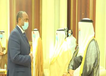 البرهان يصل إلى الكويت للعزاء في وفاة الأمير