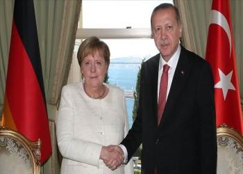 أردوغان وميركل يبحثان تطورات القوقاز وشرقي المتوسط