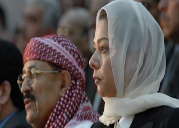 هل هاتفت رغد صدام حسين أمير الكويت الجديد؟