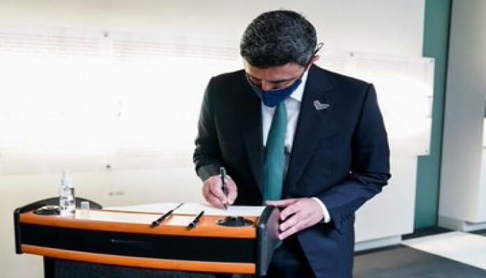 وزير خارجية الإمارات: الهولوكوست لن يحدث مرة أخرى مطلقا