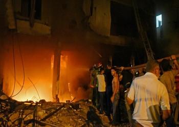 مصرع 4 أشخاص بانفجار خزان للوقود في بيروت