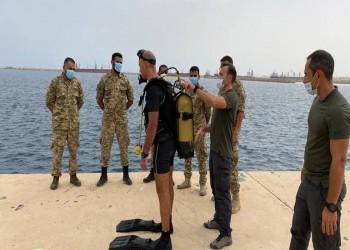 تركيا تدرب جنودا ليبيين على الغوص (صور)