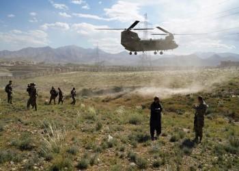ضربات جوية أمريكية على مسلحي طالبان أفغانستان