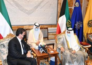 الشيخ نواف يلتقي بارزاني في أول زيارة رسمية يجريها للكويت