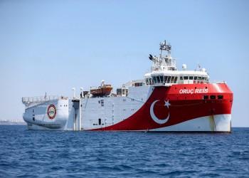 تركيا تعلن وصول أوروتش رئيس إلى منطقة عملها في المتوسط