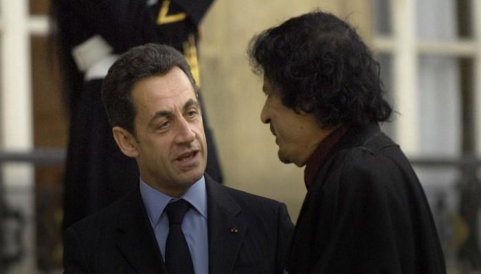 بسبب أموال القذافي.. النيابة الفرنسية توجه لساركوزي تهمة تشكيل عصابة إجرامية
