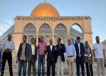مصادر: الوفد الذي زار الأقصى إماراتي وليس عمانيا