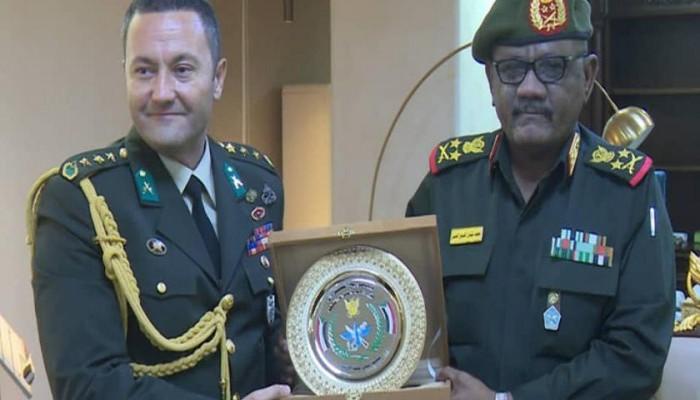 رئيس الأركان السوداني يلتقي الملحق العسكري التركي بالخرطوم