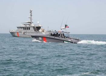 البحرية الكويتية تجري تدريبات بالذخيرة الحية