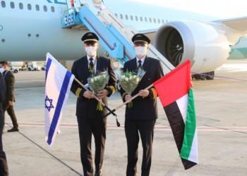 الأولى منذ التطبيع.. طائرة إماراتية قادمة من أبوظبي تهبط في تل أبيب