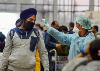مسؤول: نصف سكان الهند سيصابون بكورونا أوائل 2021