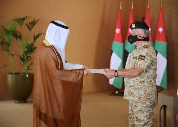 تعاون ثنائي ودعم فلسطين.. رسالة أمير الكويت لملك الأردن