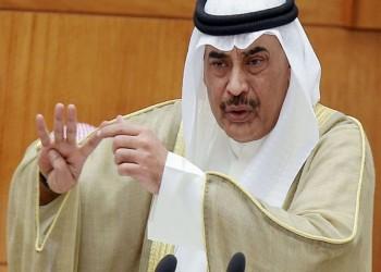 رئيس وزراء الكويت يتعهد بمواصلة المساعي لإنهاء الأزمة الخليجية