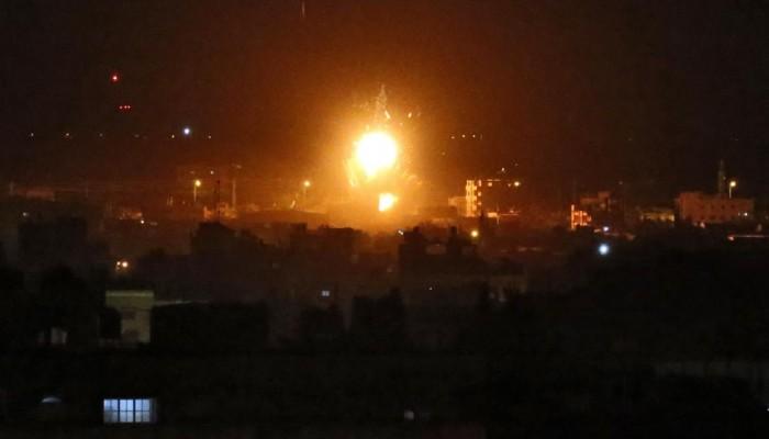 الجيش الإسرائيلي يقصف أهدافا لحماس جنوبي ووسط غزة