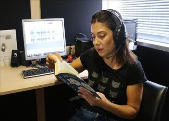 300 قارئ متطوع يطلقون مشروع الكتب الصوتية للمكفوفين بتركيا