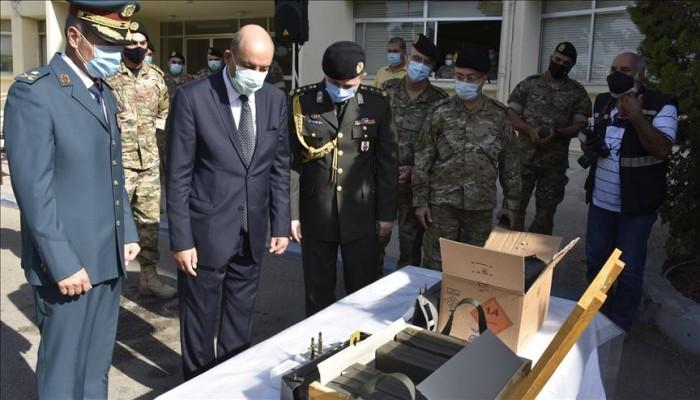 خلال مراسم رسمية ببيروت.. الجيش اللبناني يتسلم شحنة ذخائر حية من تركيا