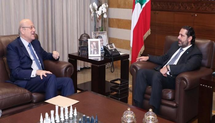 لبنان.. ميقاتي يسمي الحريري رئيسا للحكومة المقبلة