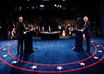 الاتهامات المتبادلة سمة المناظرة الأخيرة بين ترامب وبايدن