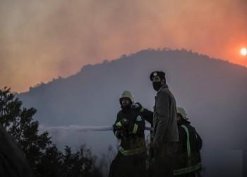 حريق تنومة يتواصل لليوم الرابع والسعودية تستعد لإخلاء قرى (فيديو وصور)