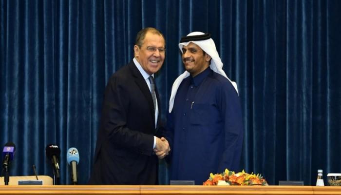 وزيرا خارجية قطر وروسيا يبحثان هاتفيا تطورات سوريا وليبيا