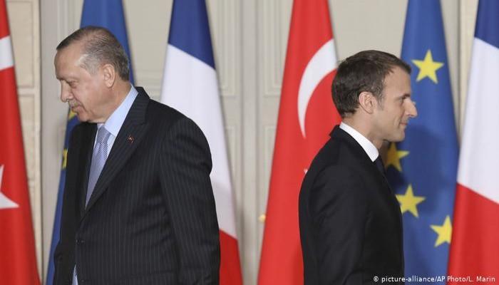 بعد هجوم أردوغان على ماكرون.. باريس تستدعي سفيرها في أنقرة
