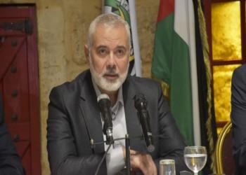 هنية: وفد من حماس إلى القاهرة لبحث 4 ملفات
