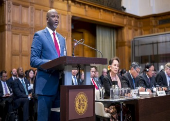 جامبيا تسلم محكمة العدل أدلة جرائم إبادة بحق الروهينجا