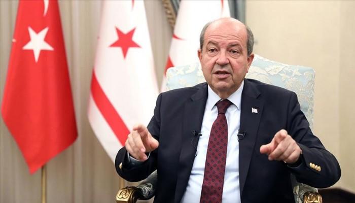رئيس قبرص التركية: حان وقت طرح حل الدولتين بالجزيرة بسبب فشل التفاوض