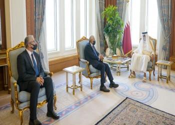 أمير قطر يستقبل باشاغا وسيالة.. وتوقيع اتفاقية أمنية بين الدوحة وطرابلس