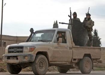 فصائل مسلحة تابعة لتركيا تقصف قوات النظام ردا على غارات روسيا