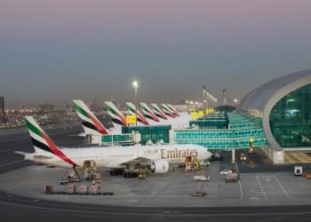 إلى نحو 40 مليون مسافر..  حركة السفر بمطار دبي تنخفض 70% بـ2020