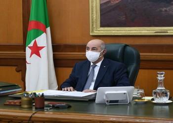 إدخال الرئيس الجزائري مستشفى عسكريا أثناء الحجر الصحي