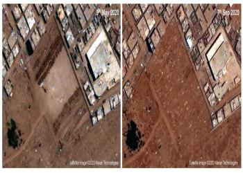 صور أقمار صناعية: القبور تكشف أعداد وفيات كورونا في عدن