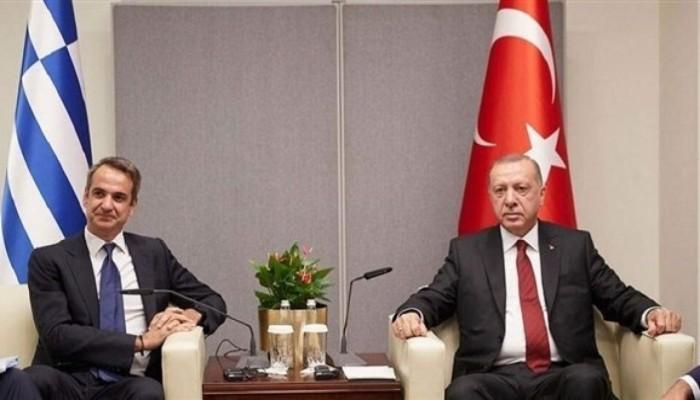 اتصال بين أردوغان ورئيس وزراء اليونان عقب زلزال بحر إيجة