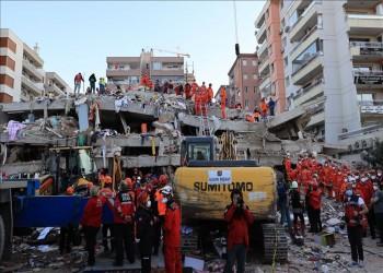 ارتفاع حصيلة ضحايا زلزال إزمير إلى 37 قتيلا