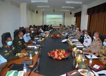 اتفاق مصري سوداني على تعزيز التعاون العسكري والأمني