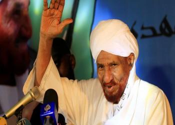 السودان.. حزب الأمة يقرر نقل الصادق المهدي للعلاج في الإمارات