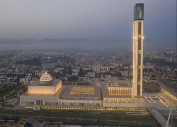 إقامة أول صلاة جمعة بجامع الجزائر الأعظم