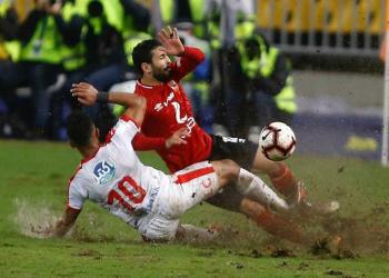 الأمطار والطين في مصر تنذر بإلغاء نهائي دوري أبطال أفريقيا