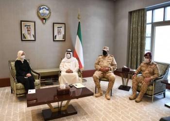 وزير الدفاع الكويتي بحث مع سفيرة تركيا علاقات التعاون الثنائي
