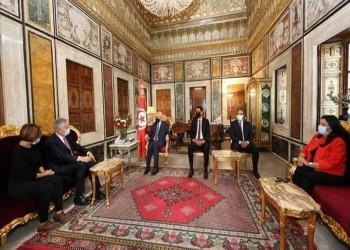 الغنوشي يرد على الانتقادات بعد واقعة السفير الفرنسي.. ماذا قال؟