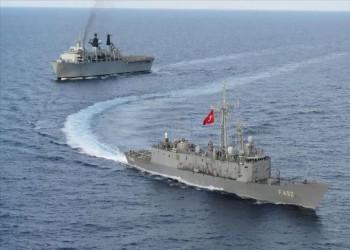 تركيا وبريطانيا تجريان تدريبات بحرية في شرق المتوسط