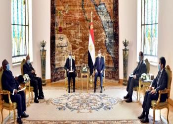 السيسي يبحث مع رئيس ناميبيا الأسبق أزمة سد النهضة