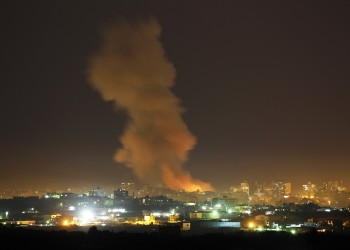 بالطيران والمدفعية والدبابات.. غارات إسرائيلية عنيفة على غزة