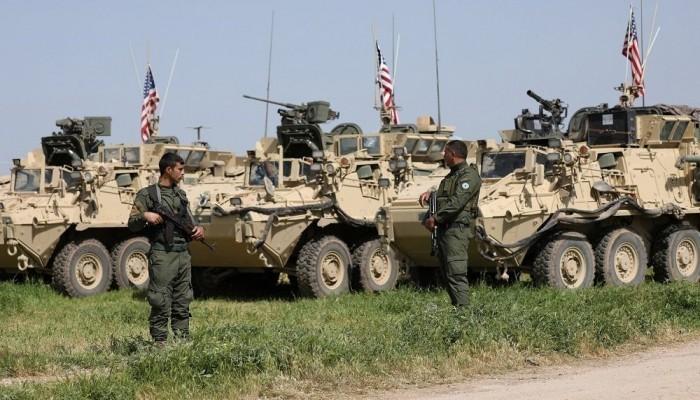 انسحاب رتل عسكري أمريكي من سوريا باتجاه العراق
