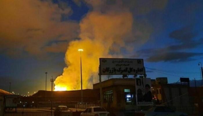 إصابات جراء انفجار بمحطة غاز في طهران